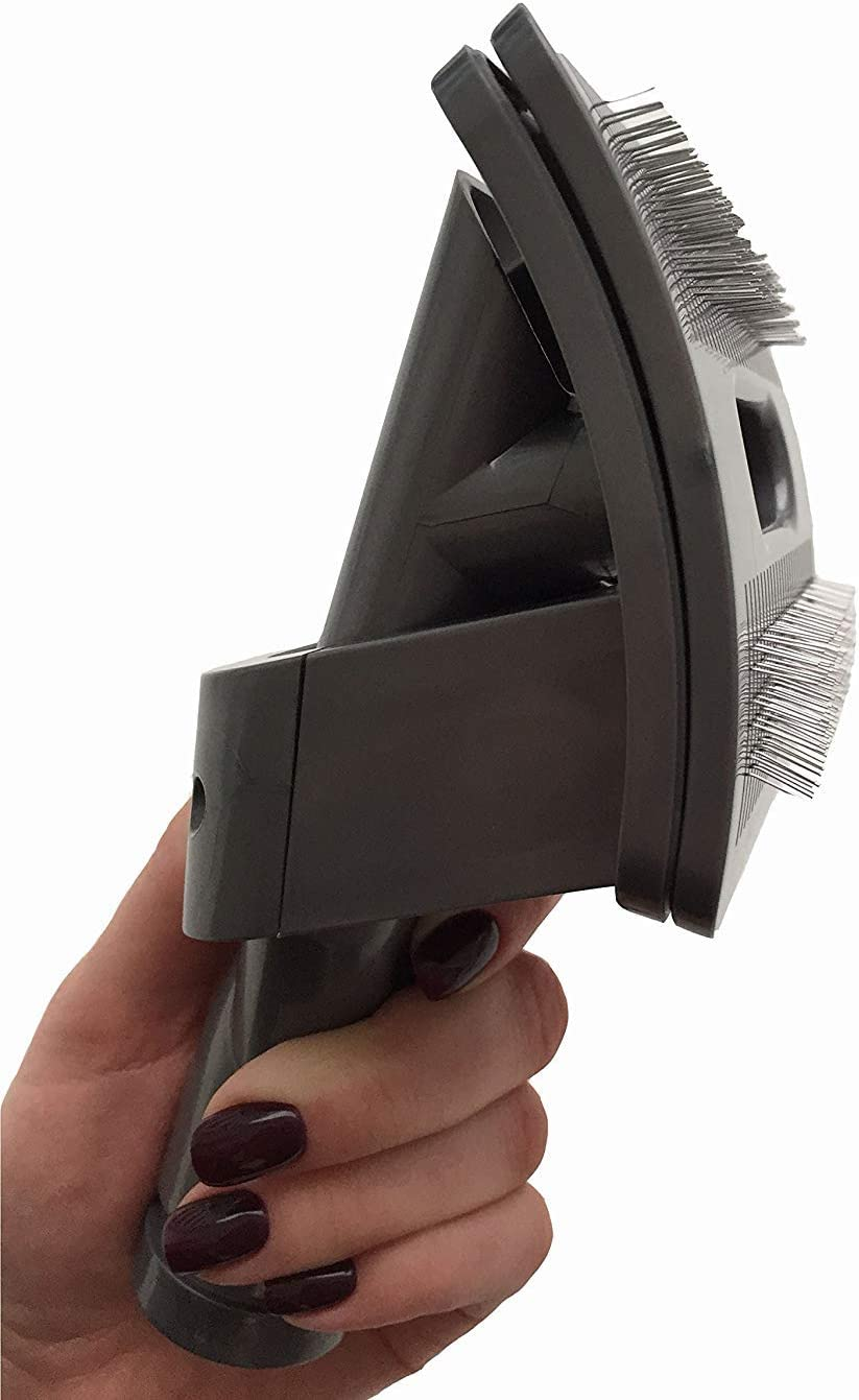Grooming and Cleaning Tool. Dog/Pet/Animal Attachment Brush for Dyson Vacuum Cleaner (compares to 921001-01). Genuine Green Label Product.