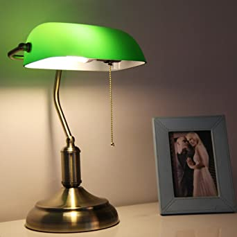 Buy prop it up vintage banker 17cmx17cmx40cm green table lamp prop it up vintage banker 17cmx17cmx40cm green table lamp mozeypictures Image collections