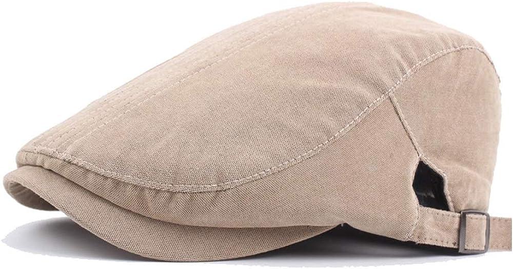 SXBag Hipster Beret Cap Autumn Cotton Painter Hat Mens Womens Retro Beret Solid Color Simple Forward Cap Cotton Suture`