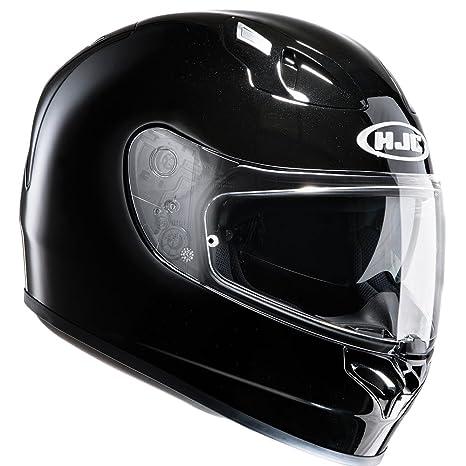 2dc734b2 Amazon.com : HJC FG-ST Inner Sun Visor Full Face Motorcycle Helmet - Plain  Gloss Black XL : Sports & Outdoors