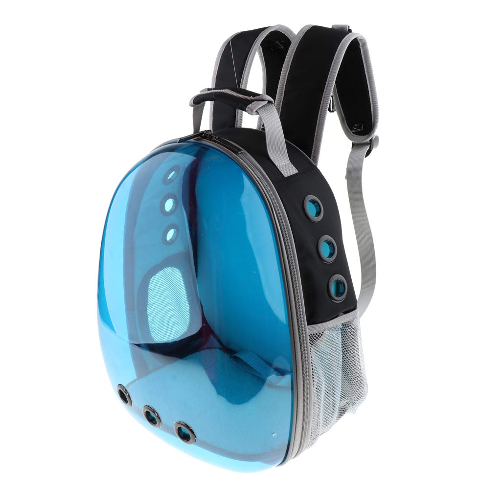bluee B Blesiya Cat Carrier Bubble Backpack Small Dog Puppy Space Capsule Knapsack Pet Travel Bag bluee