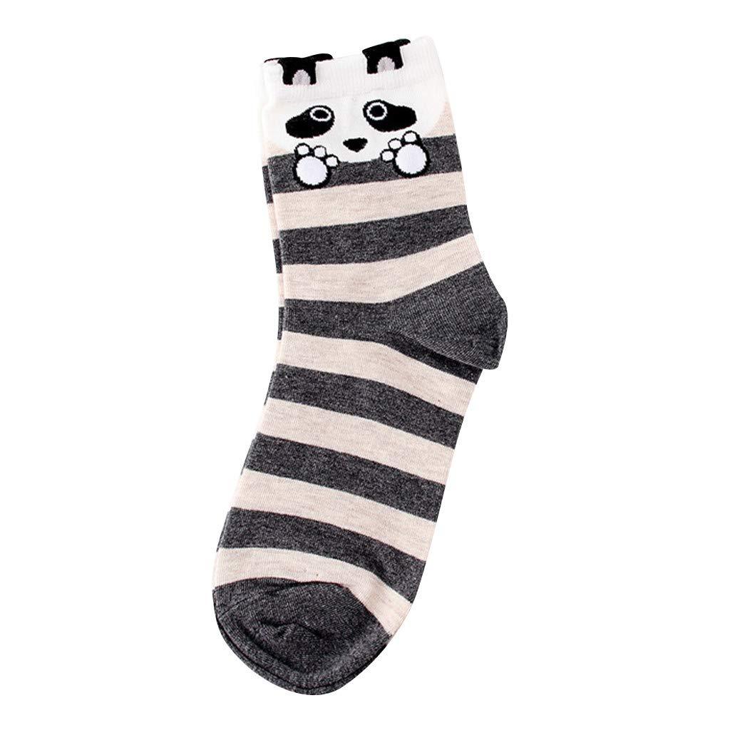 Womens Socks Cactus Crew Socks Gifts Cotton Long Funny Socks Novelty Funky Cute Cartoon Socks