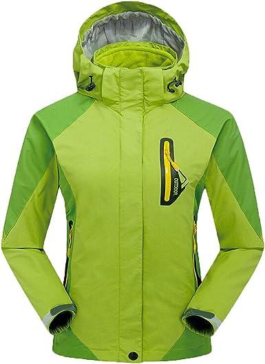 g-luckly para mujer chaqueta al aire libre escalada ...