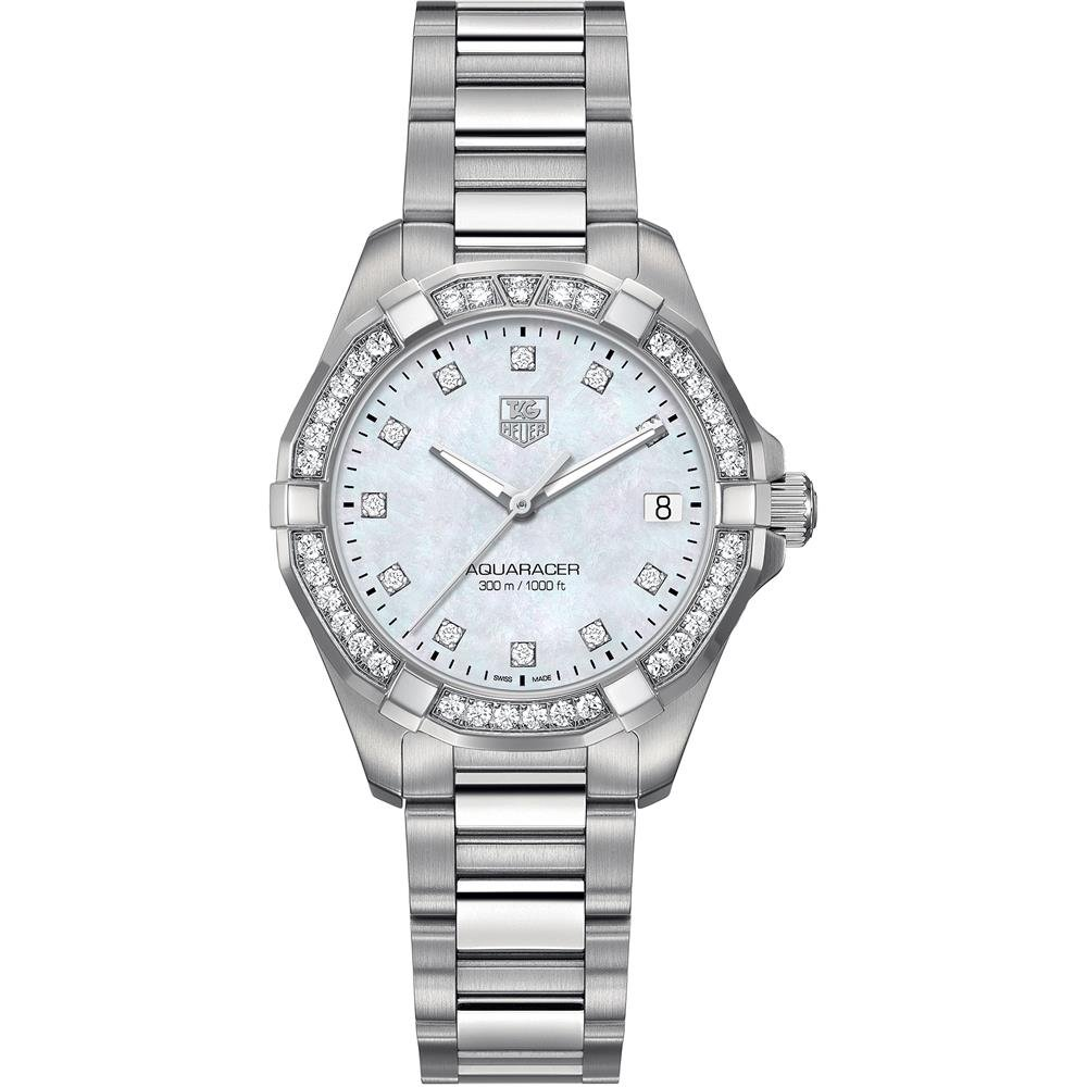 Tag Heuer Aquaracer 300M Women s Diamond Watch – WAY1314.BA0915