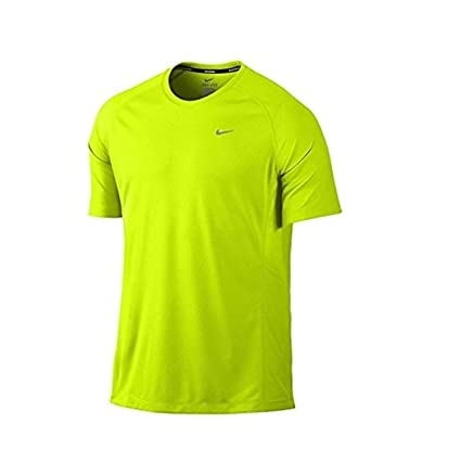2bc3bec3 Image Unavailable. Image not available for. Color: Nike Mens Miller Dri-Fit  Runing Tee ...