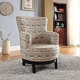 Cheap NHI Express 90024-27 Gianna Swivel Accent Chair, Regular