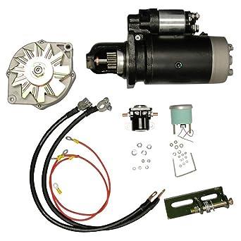 Amazon.com: New 24V to 12V Conversion Kit for John Deere Gas ... on john deere 4020 ignition switch, john deere 4020 transmission, john deere 4020 battery, john deere 3010 12 volt wiring diagram,