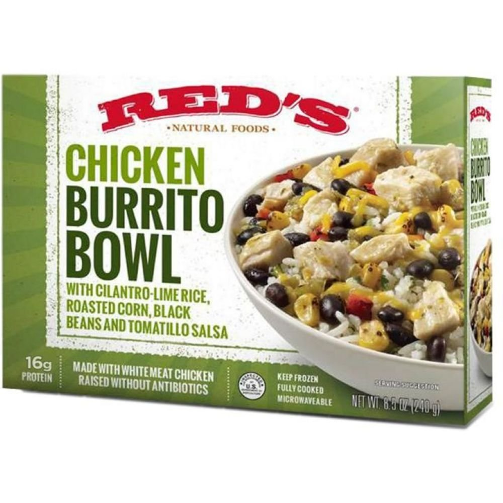 Reds All Natural, Burrito Bowl Chicken, 8.5 Ounce
