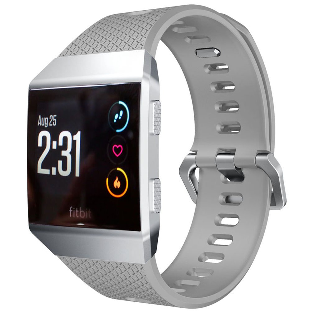 Soft Silicone Adjustable Replacement Sport Strap Band for Fitbit Ionic Smartwatch No Tracker Band For Fitbit Ionic