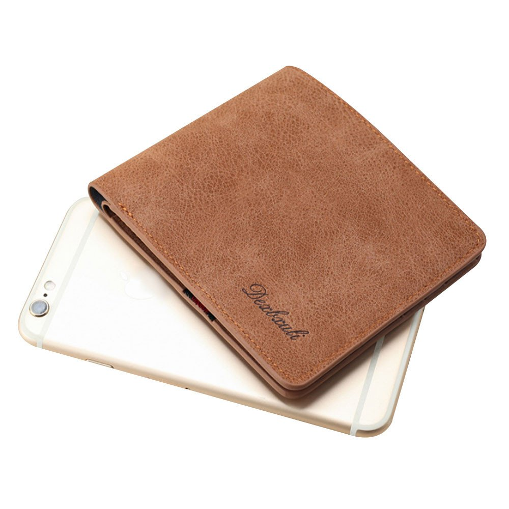 GzxtLTX Bifold Wallet PU Leather Credit Card Holder for Men by GzxtLTX Bags (Image #3)