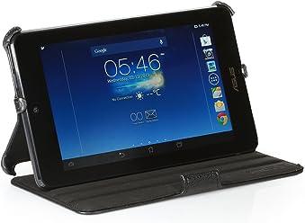 StilGut Custodia originale UltraSlim con funzione di supporto per l'originale Asus MemoPad HD 7 in nero