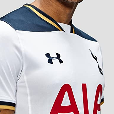 2016 2017 Tottenham Home Football Shirt 1276013 100 White Xl 46 48 Chest Amazon Co Uk Clothing