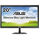 ASUS 19.5型WXGAディスプレイ ( 応答速度5ms / ブルーライト低減 / 1,366×768 / DVI-D×1,D-sub×1 / 3年保証 ) VX207NE