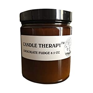 Chocolate Candle, Hot Chocolate Candle - Rich Hot Cocoa Fudge Brownie Scent - Food Sugar Cookie Candle - Natural Toxin Free, Clean Long Burning Candle - Stress Relief, Healing and a Bit of Fun