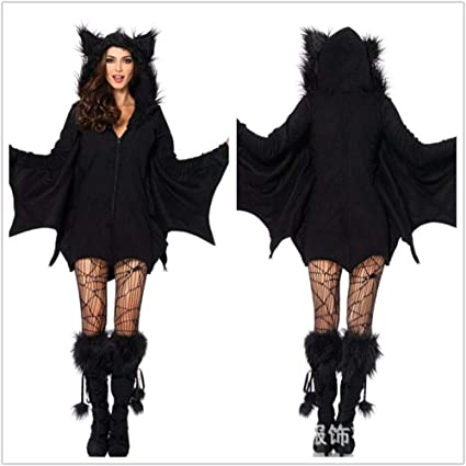 Batman And Catwoman Halloween Costumes.Amazon Com Gyh Halloween Costume Vampire Batman Woman Costume