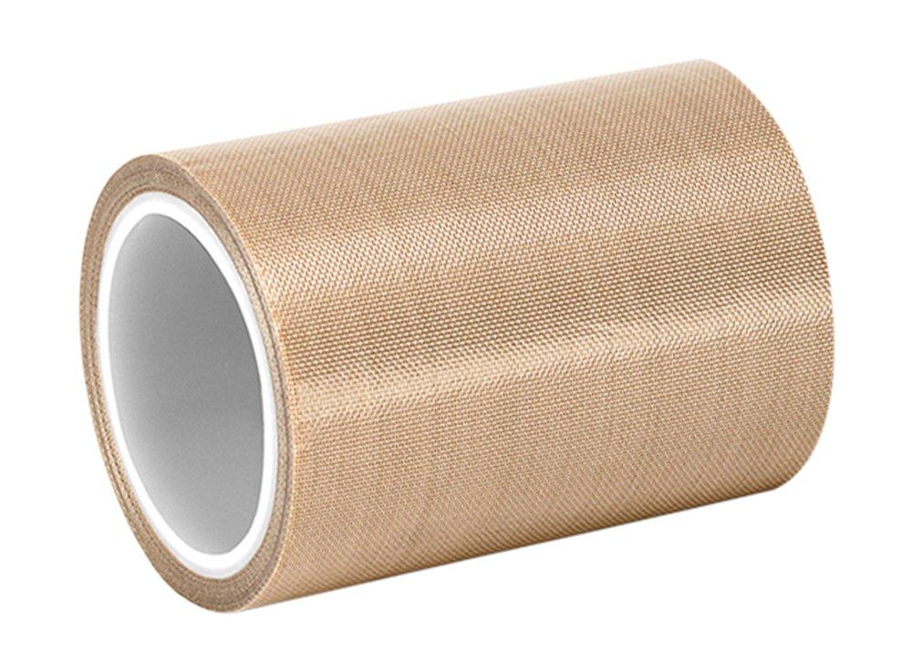 1 roll 5-5-5453 5 x 5yd 3M 5453 Brown PTFE Glass Cloth Tape 1 roll 5 x 5yd