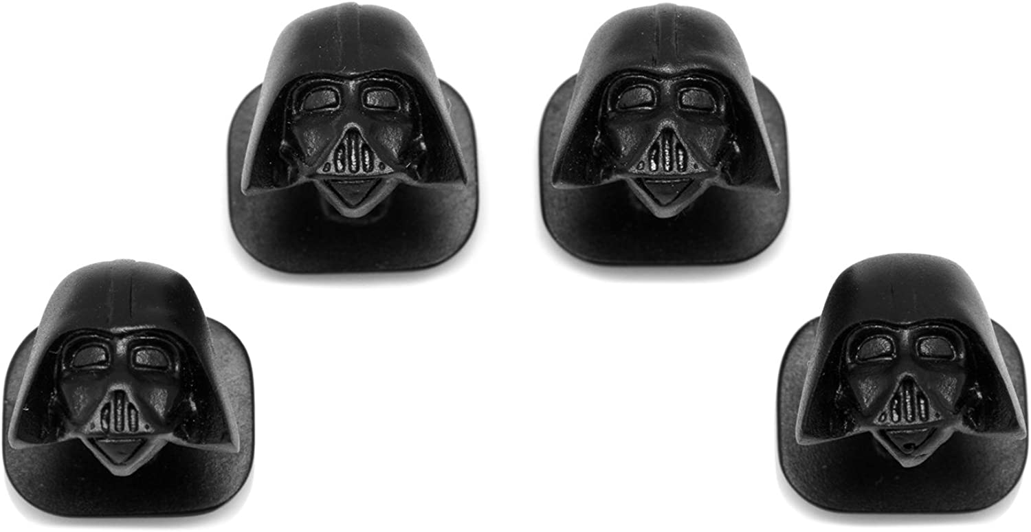 Gemelos Inc 3d mate negro Darth Vader studs (negro): Amazon.es ...
