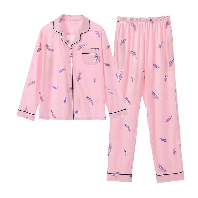 GOSO Pijama para niñas de 8 a 14 años, Pijama con Botones ...