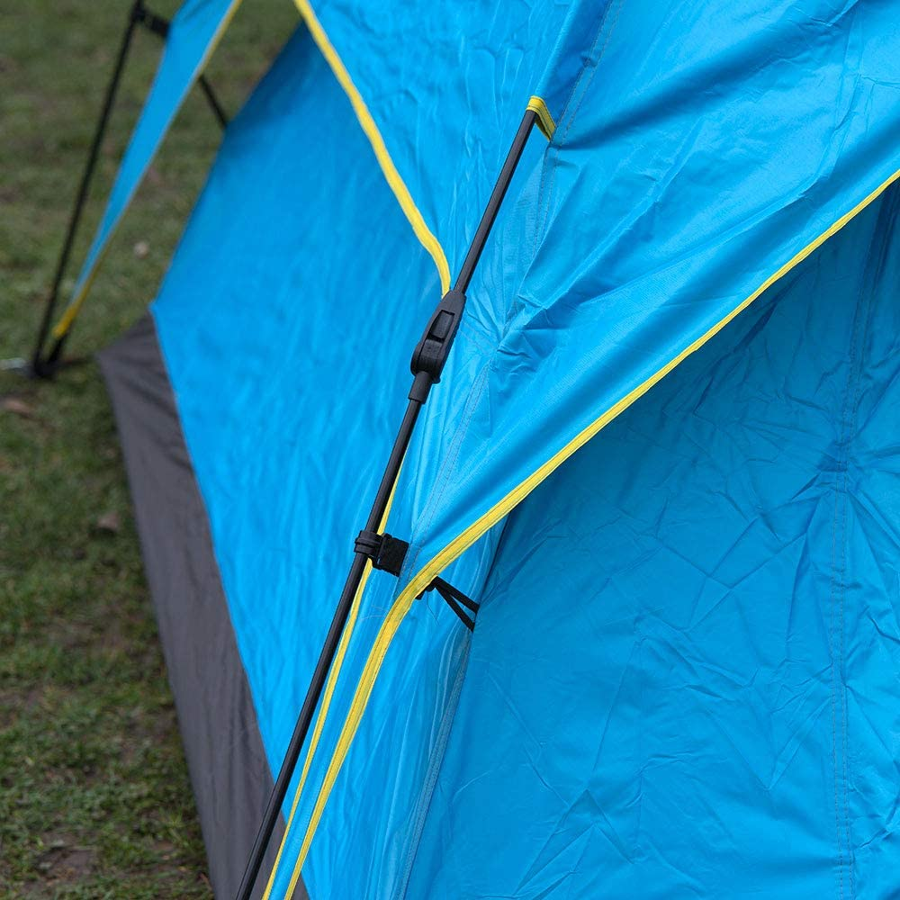 2-3 Man Person Easy to Set Up Automatic Water Resistant Pop Up Tent Double Layer Camping Fishing//Music Festival Shelter /& Compact Travel Carry Bag