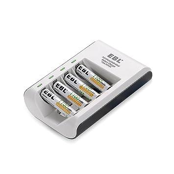 Amazon.com: EBL® 807 LED Rapid 4 Bay Individual Smart ...