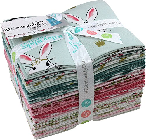 Melissa Mortenson Wonderland 2 21 Fat Quarters Riley Blake Designs FQ-5770-21 by Riley Blake Designs