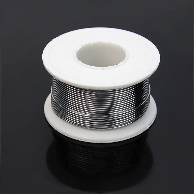 63/37 1mm Rollo de Alambre Cable Soldadura Soldar Estaño FLUX 2% Buena Calidad: Amazon.es: Industria, empresas y ciencia