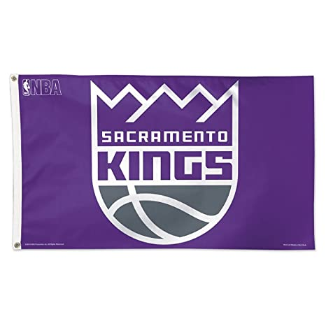 Amazon com : Wincraft Sacramento Kings New Crown Flag