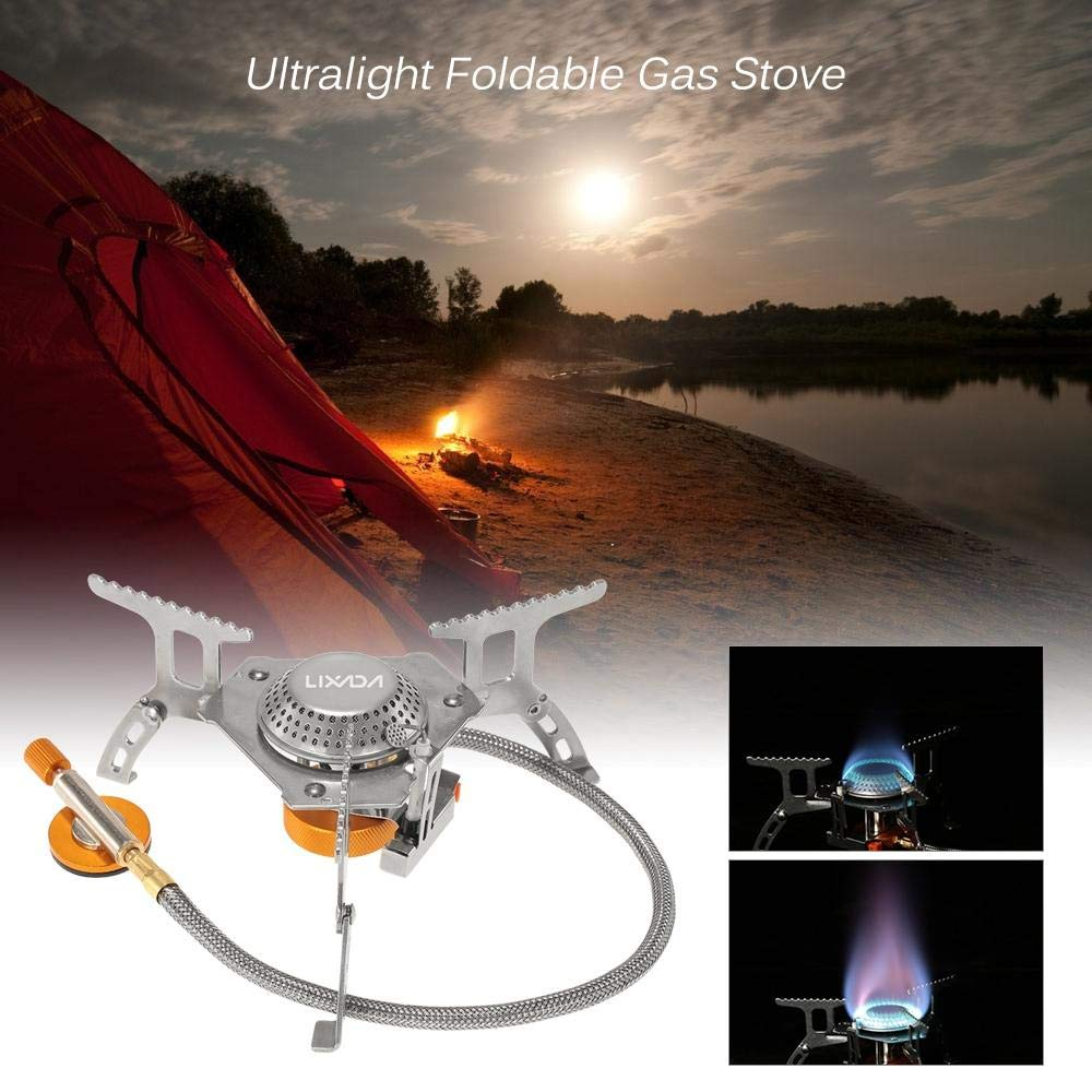 Outdoor Camping Hiking Gas Stoves Cooking Portable by The Healthcare Lab, Inc.