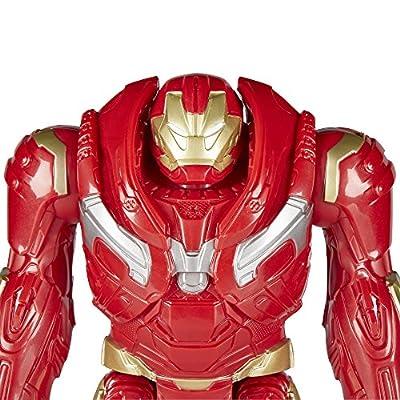 Marvel Infinity War Titan Hero Series Hulkbuster with Titan Hero Power FX Port: Toys & Games