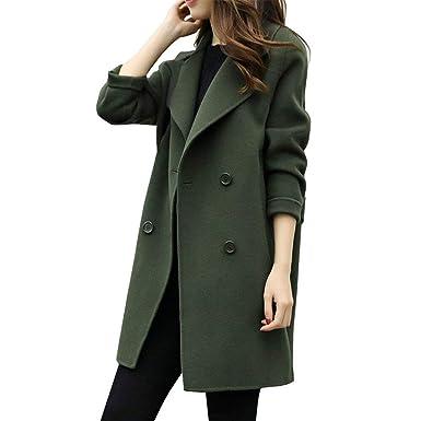 Amazon.com: Mose nueva mujeres Coat mujer Moda Otoño ...