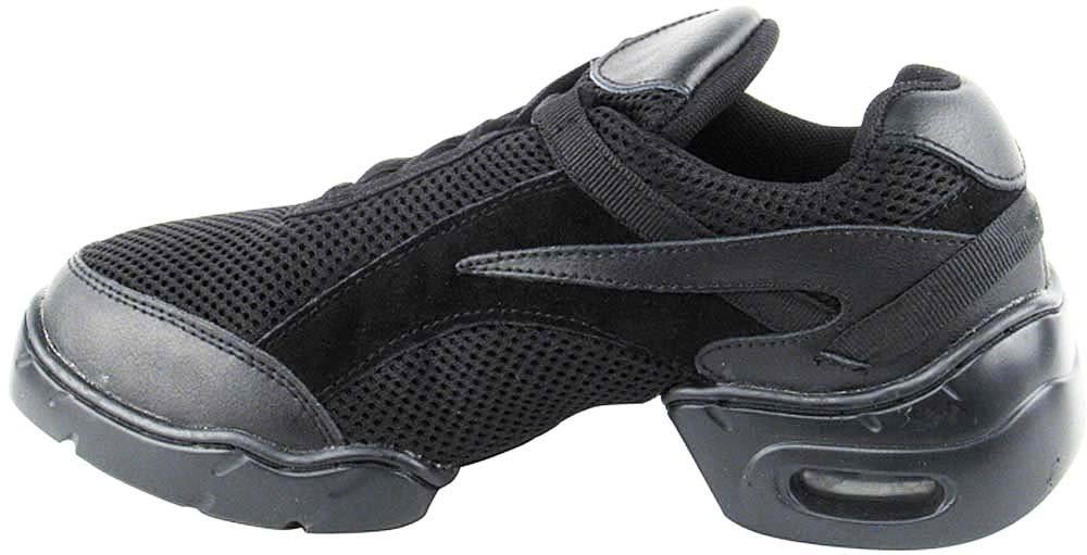 Bundle- 4 items - Very Fine Mens Womens Unisex Practice Dance Sneaker Split Sole VFSN008 Pouch Bag Sachet, Black 13 M US by Very Fine Dance Shoes (Image #4)