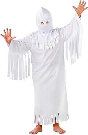 Folat - Disfraz de fantasma para niño, talla M (23682): Amazon.es ...