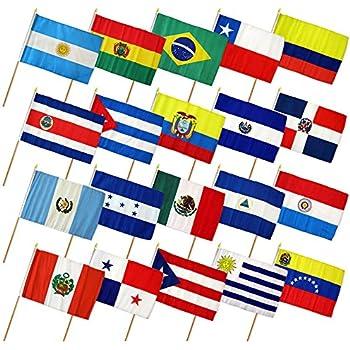 Hispanic Heritage Flags