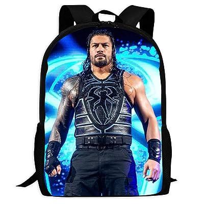 XKSB4E255B Student Backpack Ro-Man Reigns Children School Bag Fashion Super Daypack Bookbag for Boys/Girls: Home & Kitchen