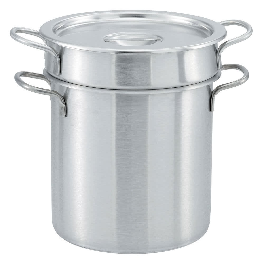 Tabletop king 77110 11 Qt. Stainless Steel Double Boiler Set