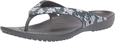 Crocs Womens Kadee Ii Seasonal Graphic Flip Flops