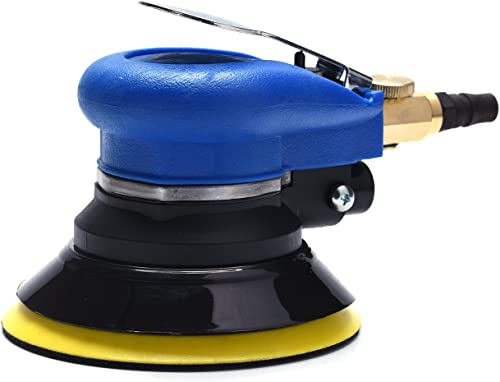 5 inch Pneumatic Orbital Sander Air Sander Palm Da Sander Hook and Loop Air Powered and Swirl Free by ZHONG AN