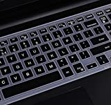 Keyboard Cover for 15.6 Inch Dell Inspiron 15 7559, Inspiron 15 3000 5000 series i3541 3542 3543 3551 3552 3558 5545 5547 5548 5555 5558 5559 i5577, Inspiron 17 5000 series 5748 5749 5755 5758 5759