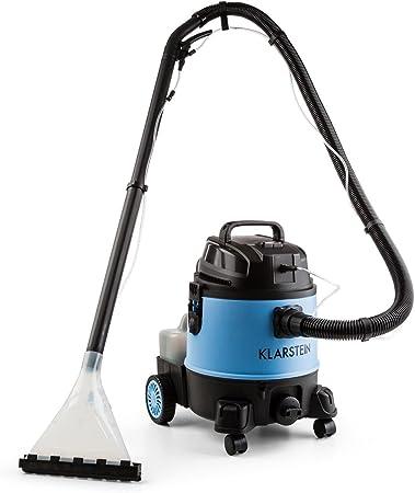 Klarstein Reinraum 2G Dark Blue • Aspirador de Agua/Polvo • Depósito Estable de 20 L • Potencia de succión de 1250 L • Apagado automático • Azul/Negro: Amazon.es: Hogar