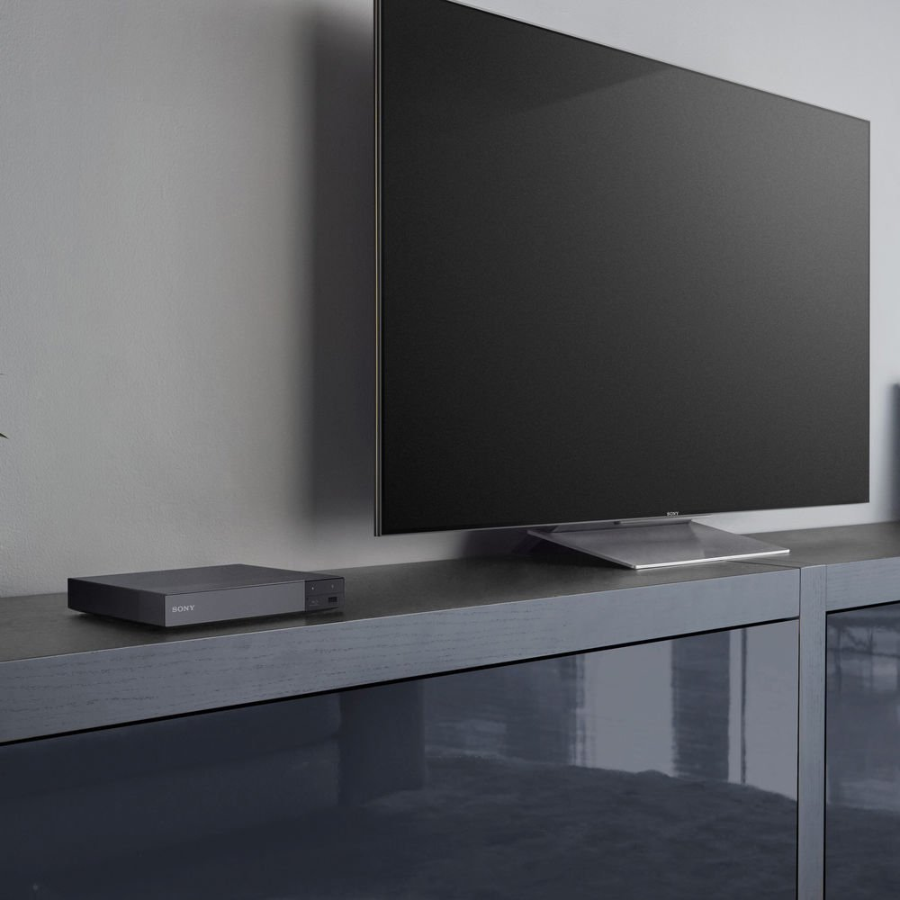 Sony BDP-S6700 4K Upscaling 3D Streaming Blu-ray Disc Player 2016 Model with 6ft High Speed HDMI Cable