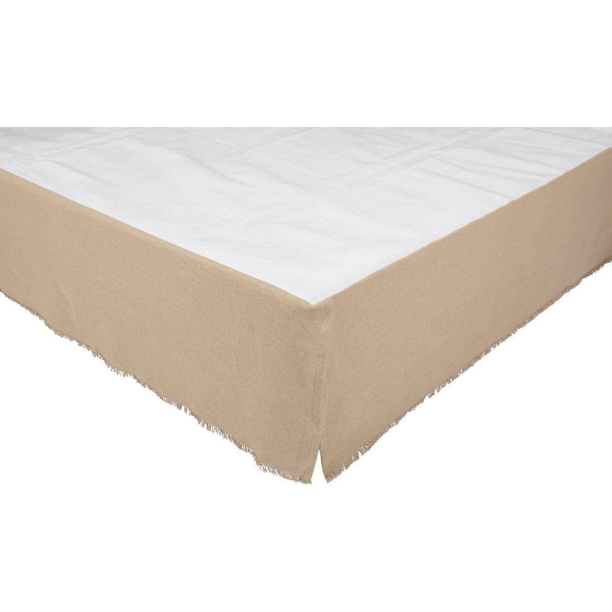 VHC Brands 45641 ベッドスカート ツイン ホワイト B07F4763L1