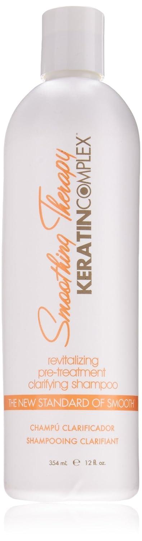 Keratin Smoothing Therapy Revitalizing Pre-Treatment Clarifying Shampoo, 12 Ounce