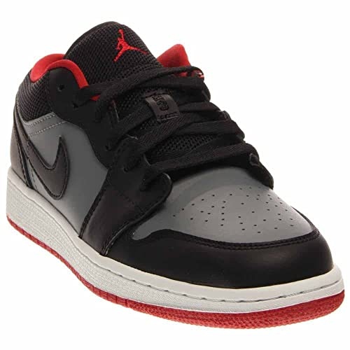 Al Aire Libre Air Jordan 1 I Retro Zapatillas Low Negro Rojo