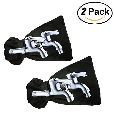 Amazon.com : Outdoor Faucet Cover Protector, HoFire 2 Packs Faucet ...