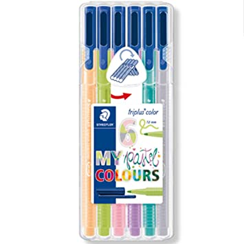 Rotulador Staedtler Triplus My Pastel Colours Estuche De 6 ...