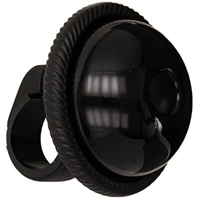 Mirrycle Incredibell Saturn Bicycle Bell (Black) : Bike Bells : Sports & Outdoors