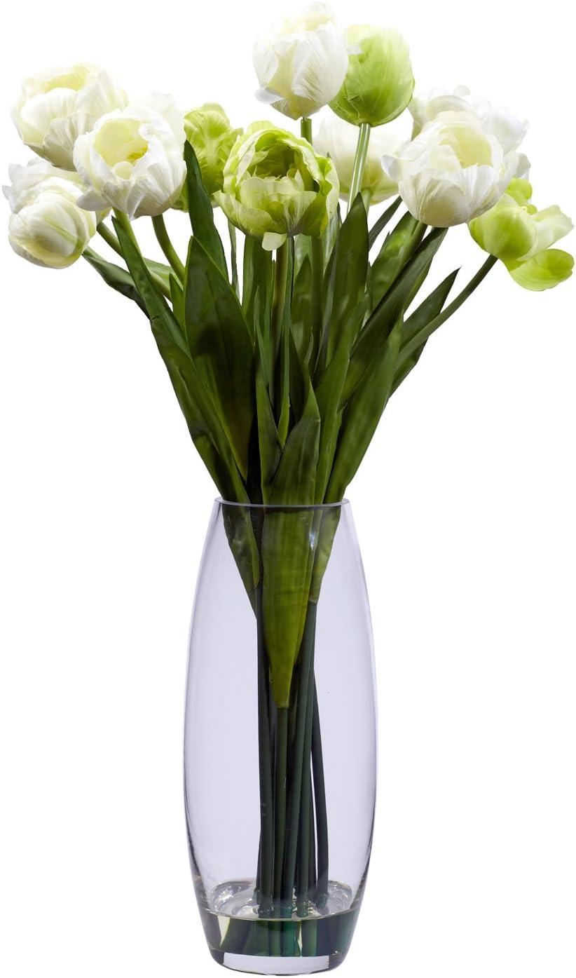 Wilt Free Faux Tulip in Vase