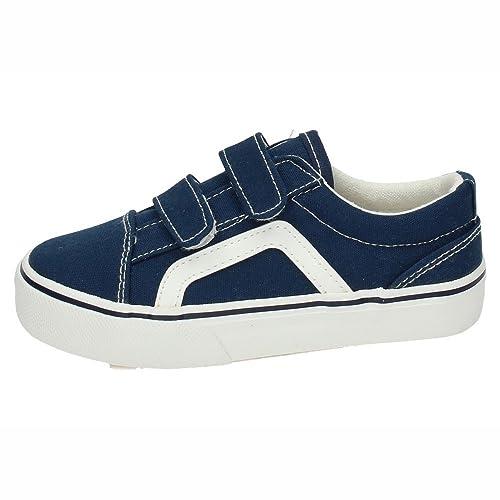 DEMAX 3-A1900B-12 Bambas Lona Marino NIÑO Zapatillas: Amazon.es: Zapatos y complementos