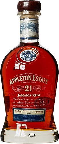 Rum Jamaica 21 años Appleton Estate 21 0,70 Rhum Ron con el caso