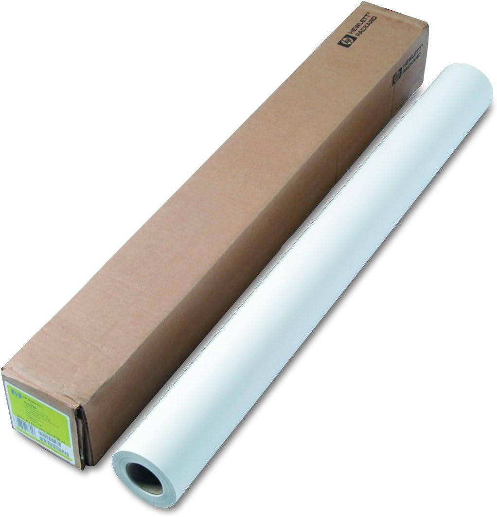 "HP 51642B Designjet Inkjet Large Format Paper, 36"" x 125 ft, White"